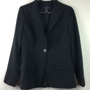 Brooks Brothers Milano Fit Wool One Button Blazer